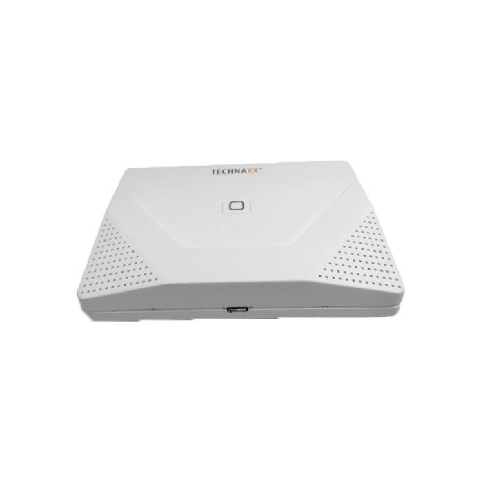 Kit de démarrage du système d'alarme intelligent Technaxx WiFi TX-84, blanc