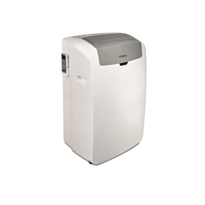WHIRLPOOL Climatiseur Portable REVERSIBLE Pompe à Chaleur Climatisation A+