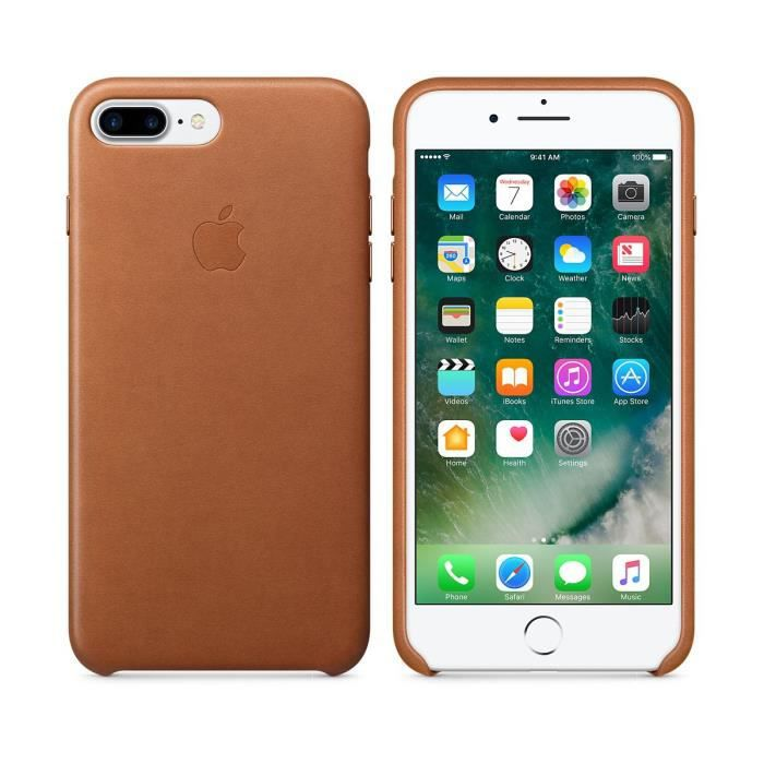 apple coque cuir iphone 7 plus