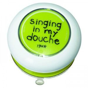 Radio de salle de bain singing in my douche radio cd for Radio salle de bain darty