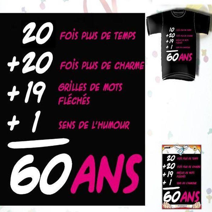 Image Pour Anniversaire 60 Ans.T Shirt Anniversaire Addiction 60 Ans Femme