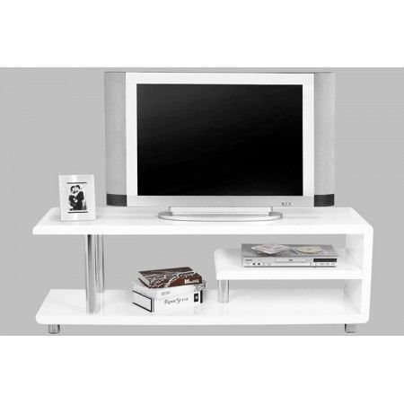 meuble tv design monica blanc laqu achat vente meuble. Black Bedroom Furniture Sets. Home Design Ideas