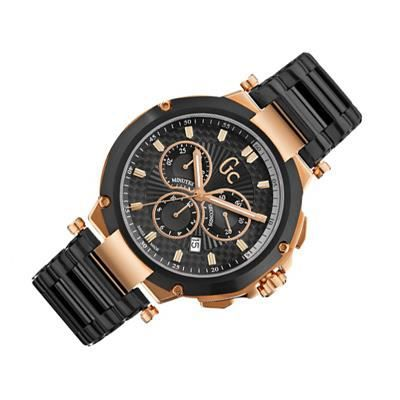 guess 4 executive x66003g2s chronographe hommes rose noir or rose achat vente montre. Black Bedroom Furniture Sets. Home Design Ideas