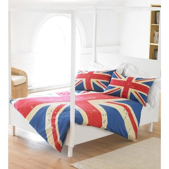 londres parure housse de couette taie 2 personne achat. Black Bedroom Furniture Sets. Home Design Ideas
