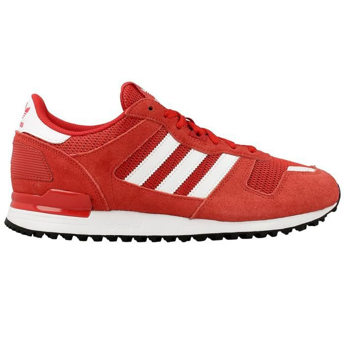 ADIDAS Zx 700 Chaussure Homme - Taille 44 - ROUGE Rouge ...