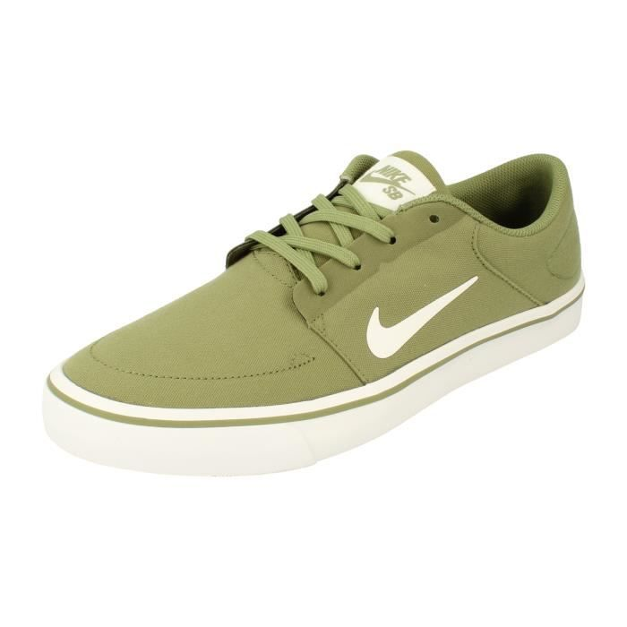 Nike Sb Portmore Canvas homme Trainers 723874 Sneakers Chaussures ...