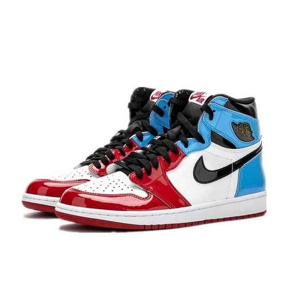 air jordan bleu et rouge