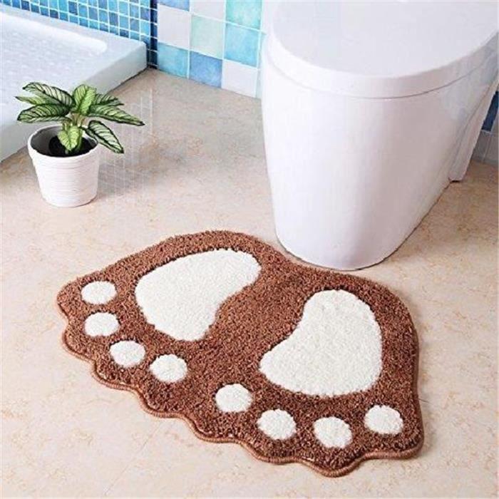 toilettes cuisine antidérapants salle de bains pieds tapis de bain paillasson