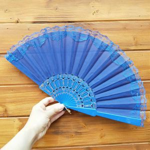 VENTILATEUR Style Chinois Tenue dentelle main Fan Dance Party