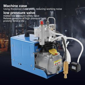 COMPRESSEUR AUTO 30MPa 220V Compresseur électrique haute pression d