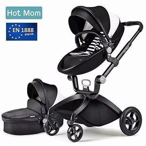 POUSSETTE  Hot Mom Poussette combinée Fashion ,Noir