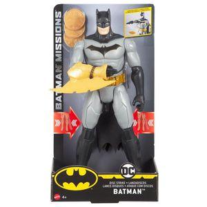 FIGURINE - PERSONNAGE Mattel GmbH fvm67DC Batman, Disc Strike, Garçon,