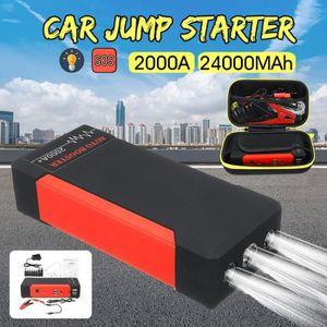 STATION DE DEMARRAGE 24000MAh 2000A Voiture Chargeur Booster Batterie J