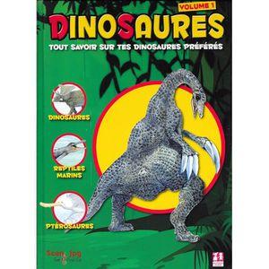 Le Livre Geant Des Dinosaures Achat Vente Livre Marie