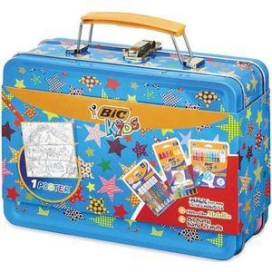 FEUTRES BIC Kids Mallette de Coloriage - 12 Pastels à l'Hu