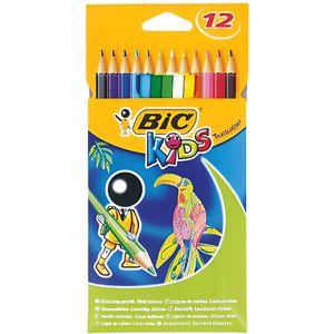 CRAYON GRAPHITE BIC Crayons de couleur BIC kids tropicolors 2 x12