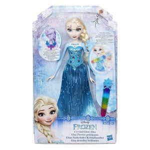 POUPÉE Poupée Disney 30 cm Elsa Pierres Précieuses - La R