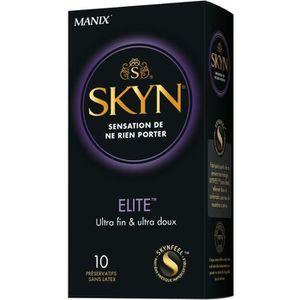 PRÉSERVATIF SKYN Elite 10 préservatifs
