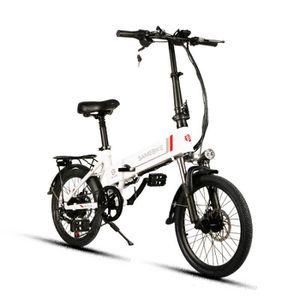 VÉLO ASSISTANCE ÉLEC Vélo Electrique 20LVXD30&48V8Ah LCD 48V 350W SHIMA