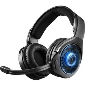CASQUE AVEC MICROPHONE Micro-Casque Gamer Afterglow Ag9 Wireless pour PS4