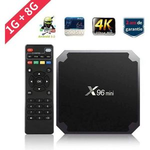 BOX MULTIMEDIA Android 7.12 TV BOX X96mini Amlogic S905W Quad Cor