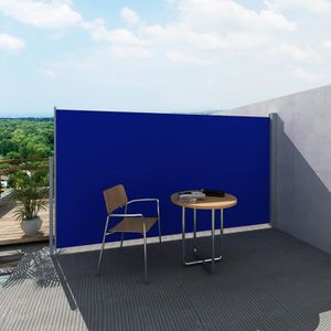 STORE - STORE BANNE  160 x 300 cm Paravent Store vertical Bleu rétracta