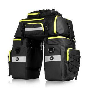 Selighting Sacoche Porte-Bagages de V/élo 3 en 1 Sac de Rangement Arri/ère de Transport 70L Imperm/éable pour VTT Outdoor Voyage Cyclisme avec Housse de Pluie
