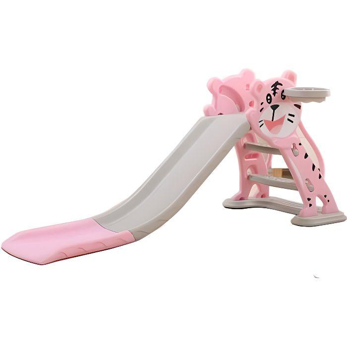 Toboggan petit chat Rose - Jeux et jouets pour enfants plein air