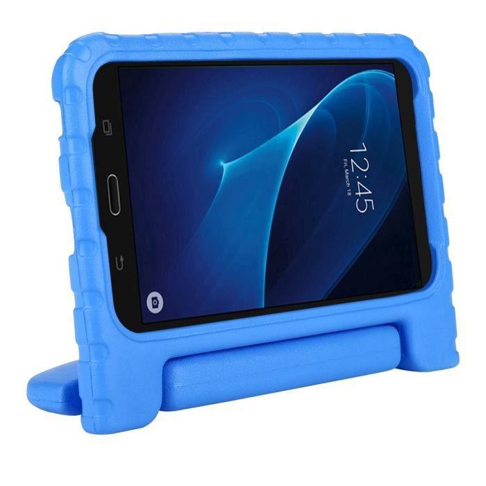 Etui de protection pour tablette antichoc pour enfants pour Samsung Tab E Lite 7
