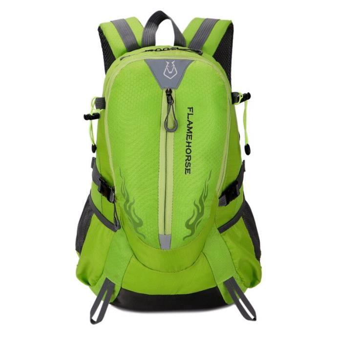Couleur verte 30 - 40L -Sac à dos imperméable pour escalade, 30l, pour Sports de plein air, voyage, Camping, randonnée, pour hommes