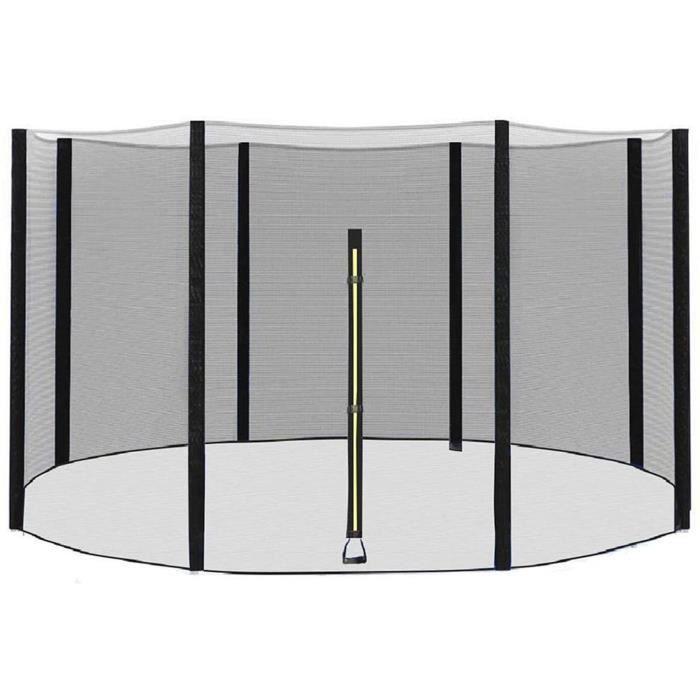 Accessoires de trampoline GXFXLP Filet Trampoline, Trampoline Exterieur, Filet de S&eacuteCurité Remplacement pour Trampo133