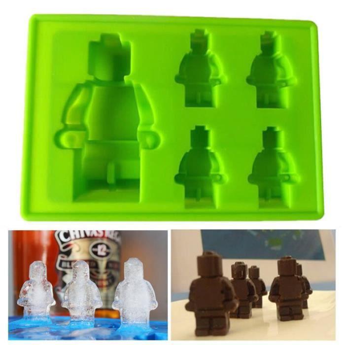 Moule,Moule à glaçons en Silicone 2015, moule à glace en Lego, livraison gratuite