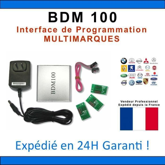 INTERFACE BDM 100 COMPATIBLE BDM FRAME REPROGRAMMATION MULTIMARQUES