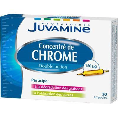 JUVAMINE BIO Concentré de chrome - 20 ampoules