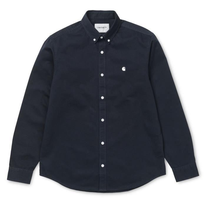 Chemise Carhartt LS Madison Shirt Bleu