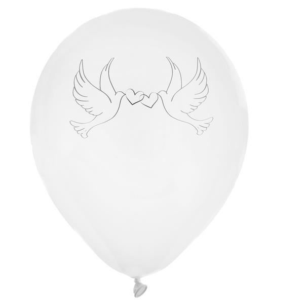 Ballon mariage colombes (x8) REF/4472