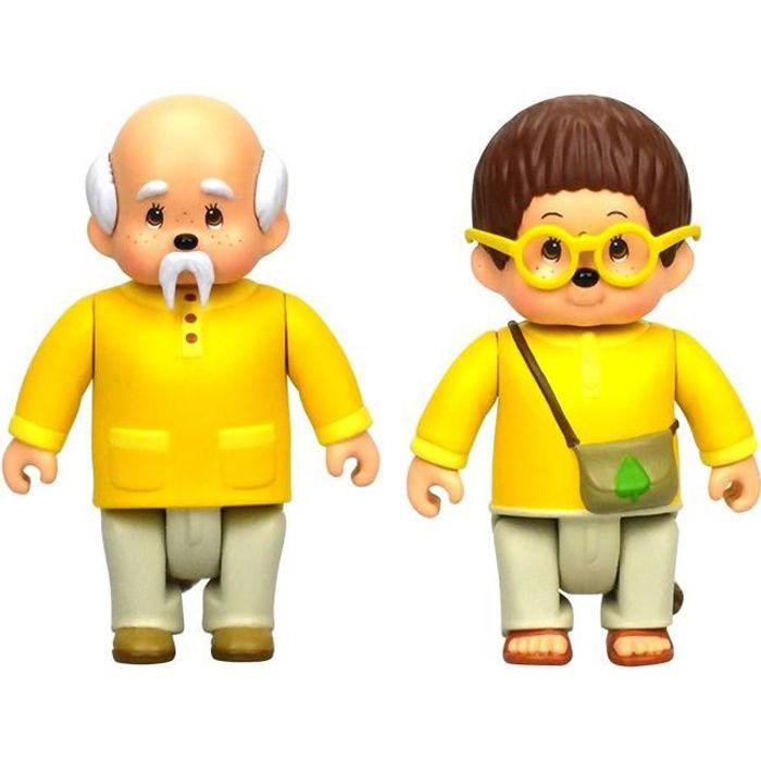 MONCHHICHI - Pack 2 figurines Feuillu & Sylvus