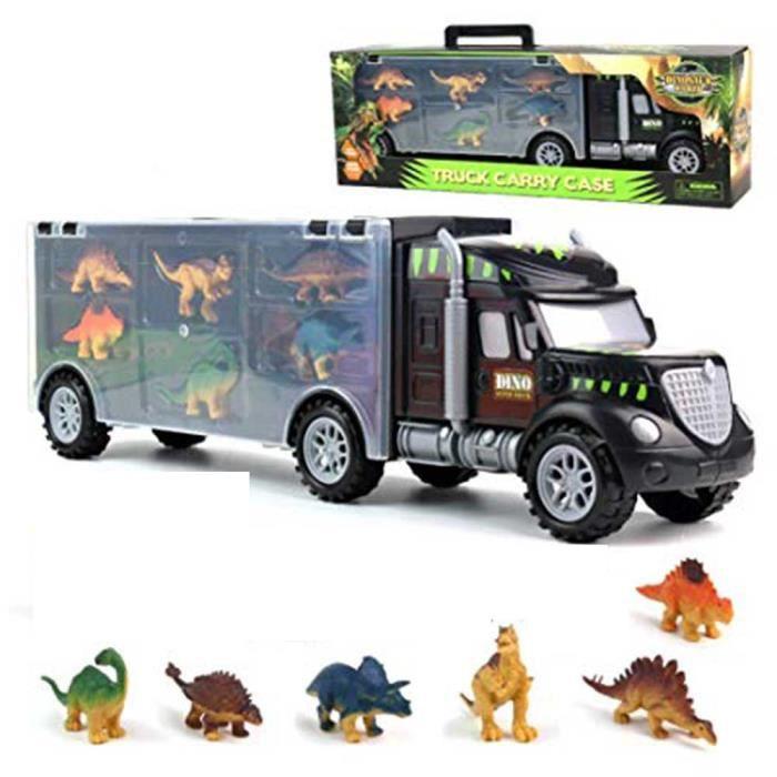 Dinosaure Toys Camion Transporteur Truck Jouets Avec Dinosaure Jouets Animaux Jouets