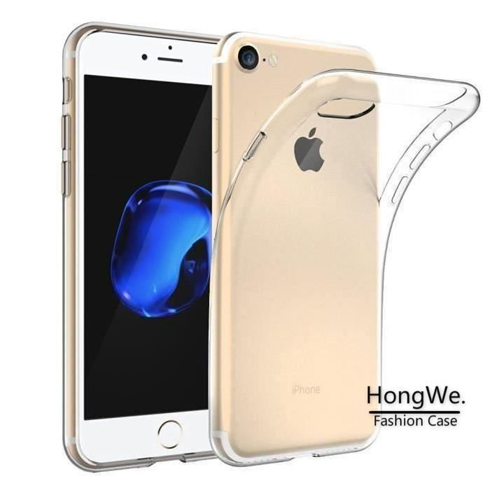 coque silicone transparente pour iphone 7 plus
