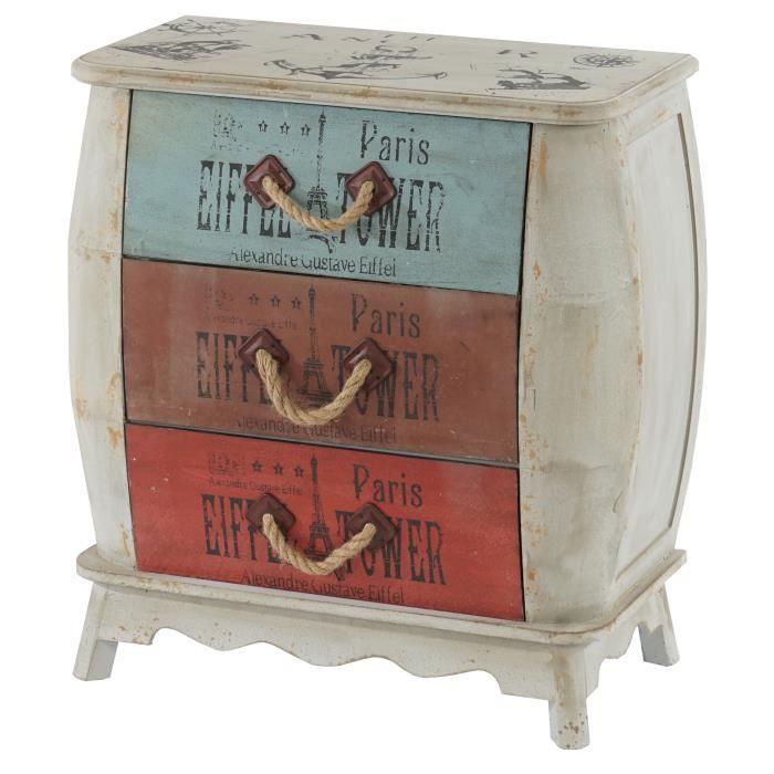 COMMODE DE CHAMBRE Commode Leiria armoire table d'appoint, vintage, s