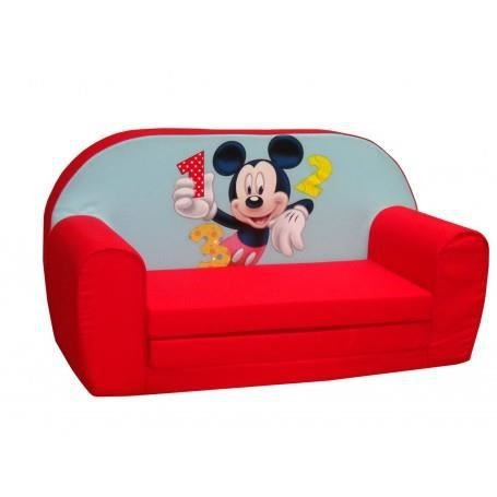 Canap convertible mickey achat vente fauteuil canap b b 541353810050 - Canape enfant convertible ...