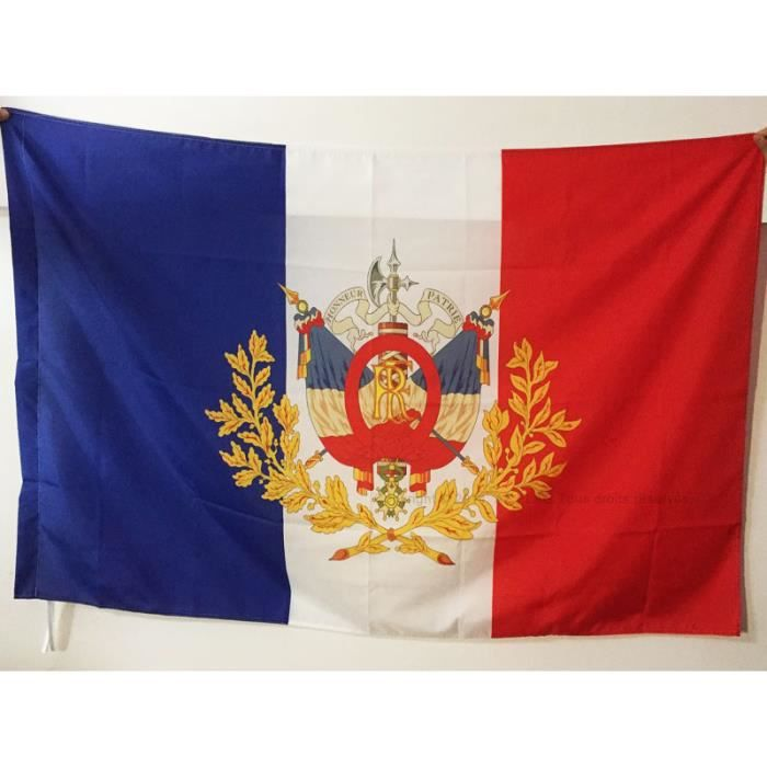 Drapeau France Armoiries 3 232 Me R 233 Publique 150x90cm