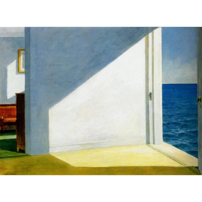 Poster Affiche Nighthawks Edward Hopper Peinture Realisme Amerique