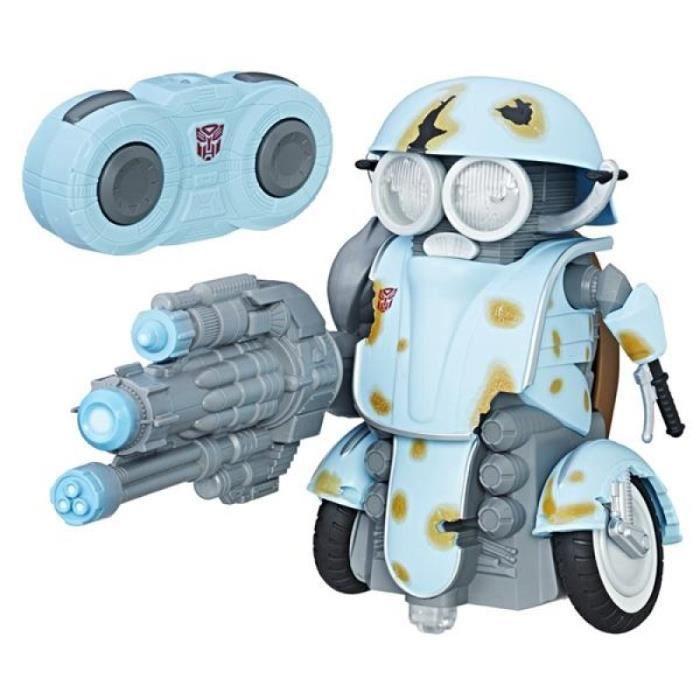 RADIOCOMMANDE TRANSFORMERS Autobot Sqweeks robot RC, 20 cm, ex a