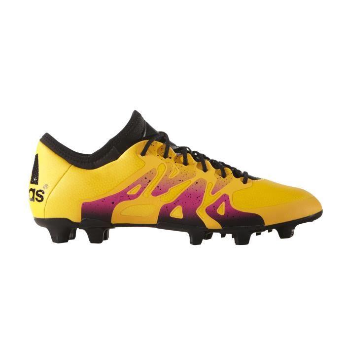 Chaussures football Adidas X15.1 FGAG Orange Prix pas