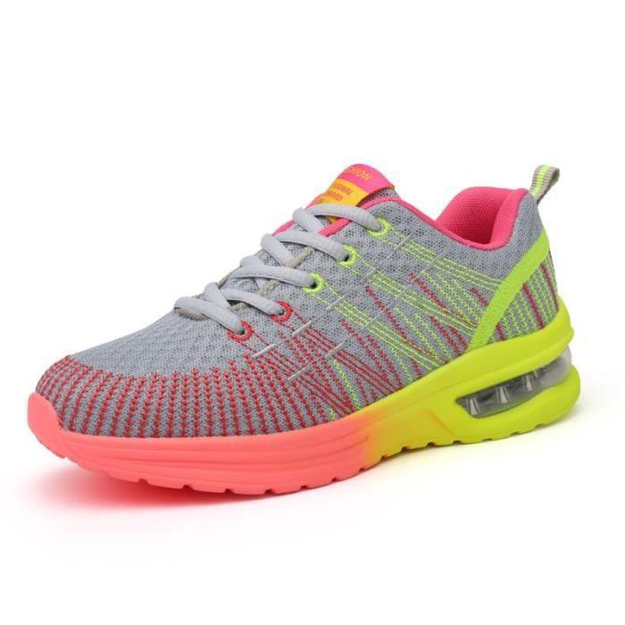 Chaussures de Basket-Ball Femme De couleur Running