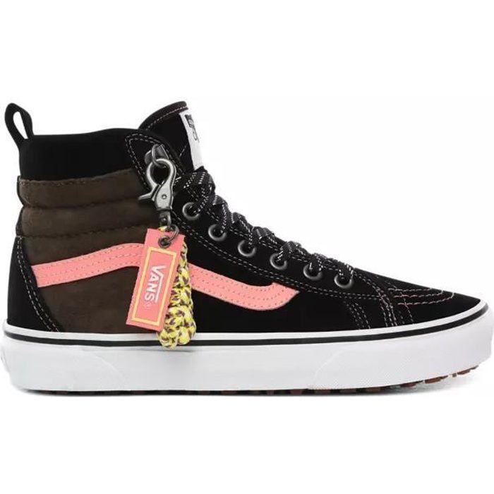 Baskets Vans SK8-Hi 46 Mte Dx noir et rose Noir - Cdiscount Chaussures