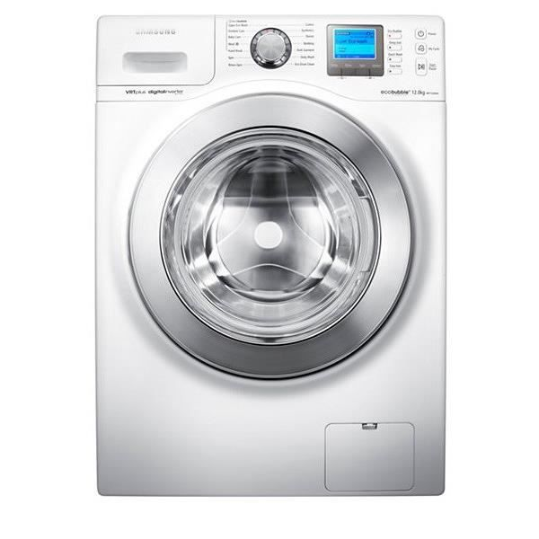 lave linge hublot 12 kg eco bubble samsung wf11 achat. Black Bedroom Furniture Sets. Home Design Ideas
