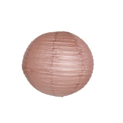 boule papier 40cm chocolat taille 40 cm cou achat vente lanterne fantaisie cdiscount. Black Bedroom Furniture Sets. Home Design Ideas