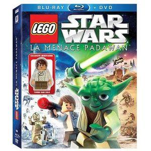 BLU-RAY FILM Blu-Ray Star wars lego : la menace padawan